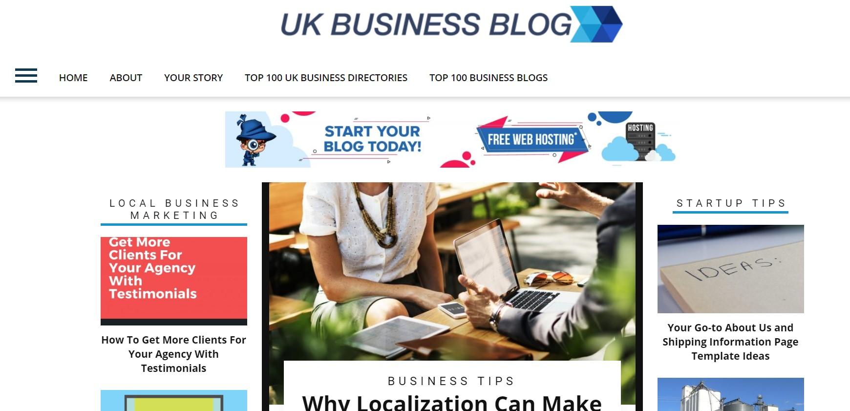 uk business blog