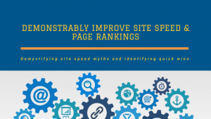Demonstrably Improve Site Speed & Page Rankings