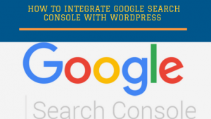 How to integrate google search console