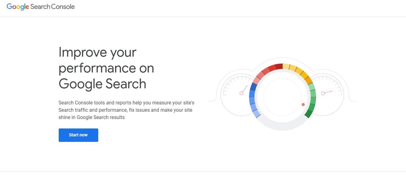 Google search console integration