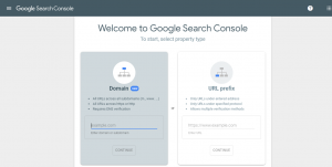 Integration of search console