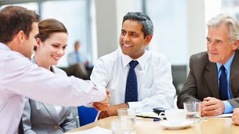 A owner building relationship with customer