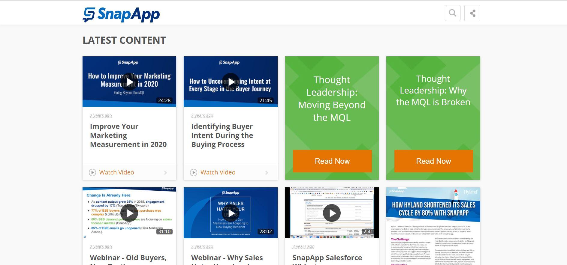 Snapapp blog