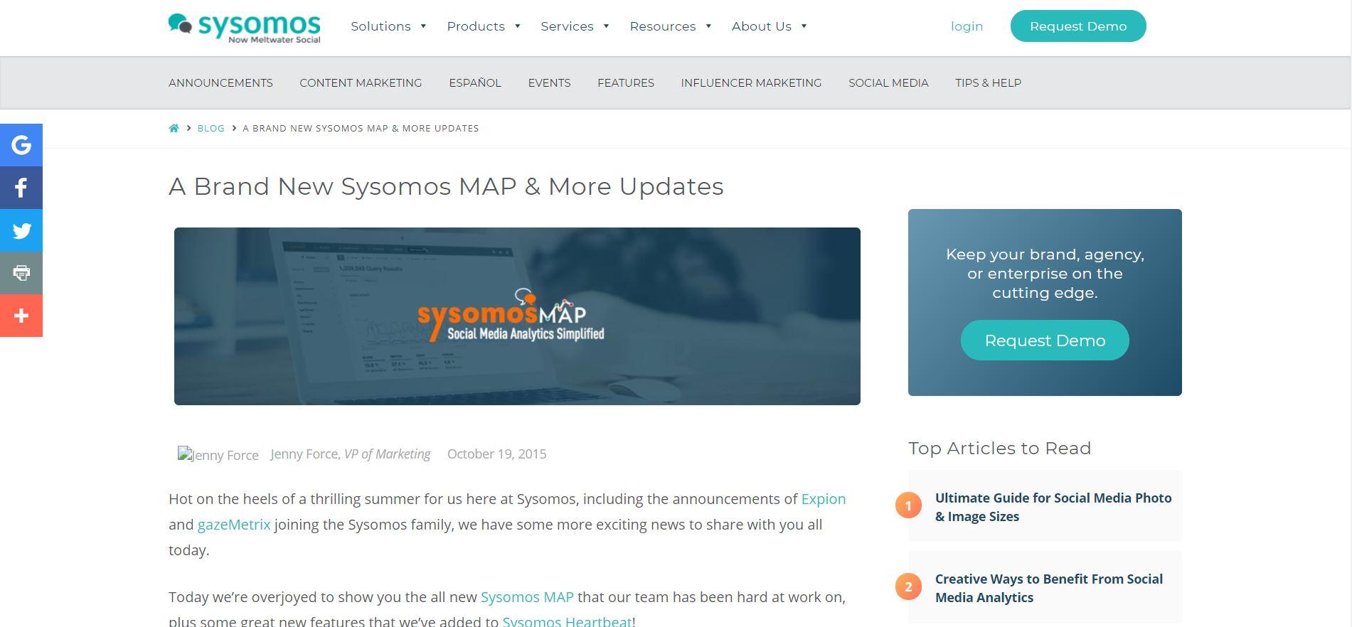 Sysomos Blog