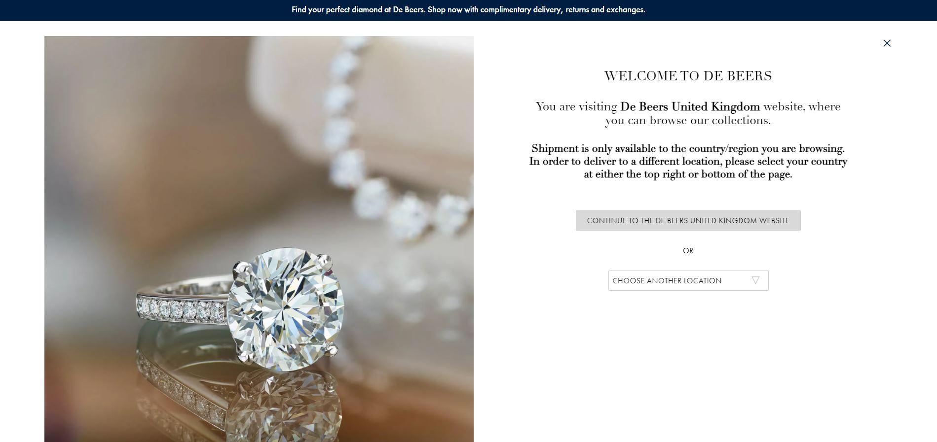 The De Beers jeweler