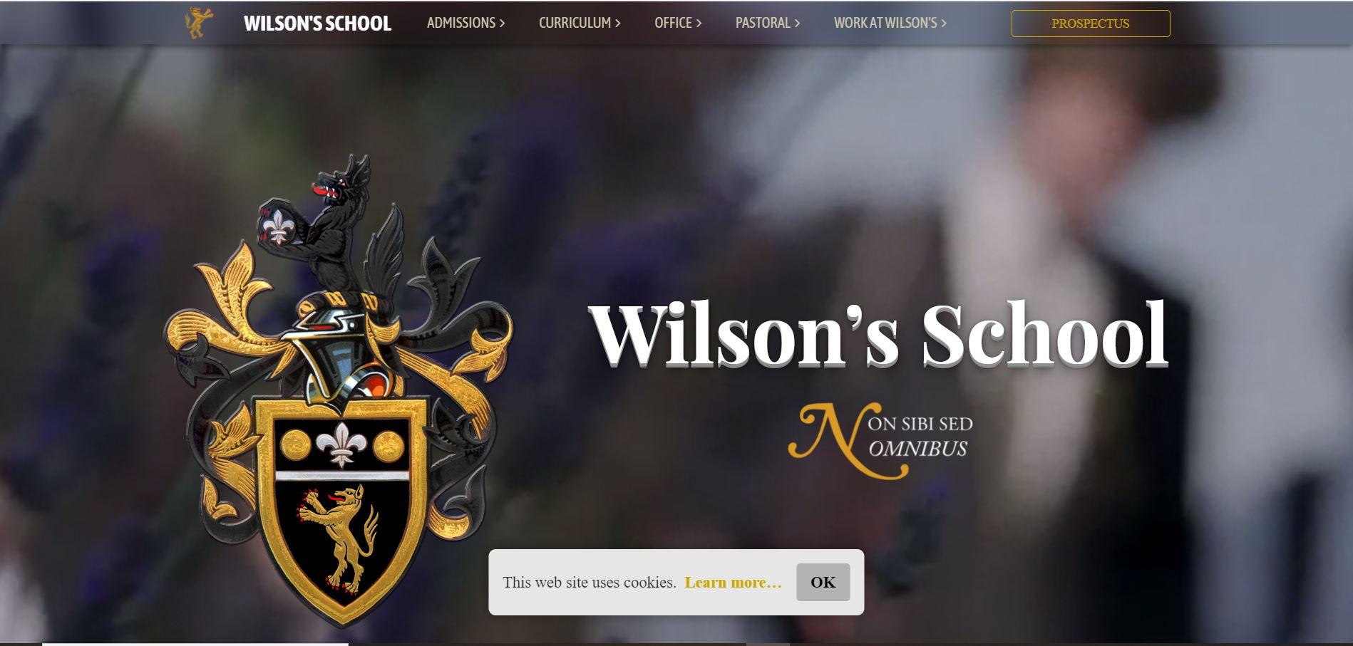 Wilson's school
