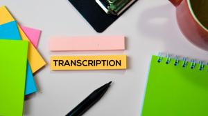 Machine Transcription Service