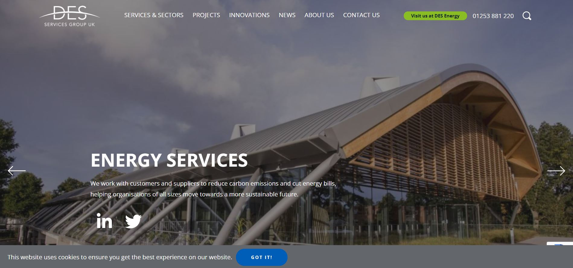 Des Services Group