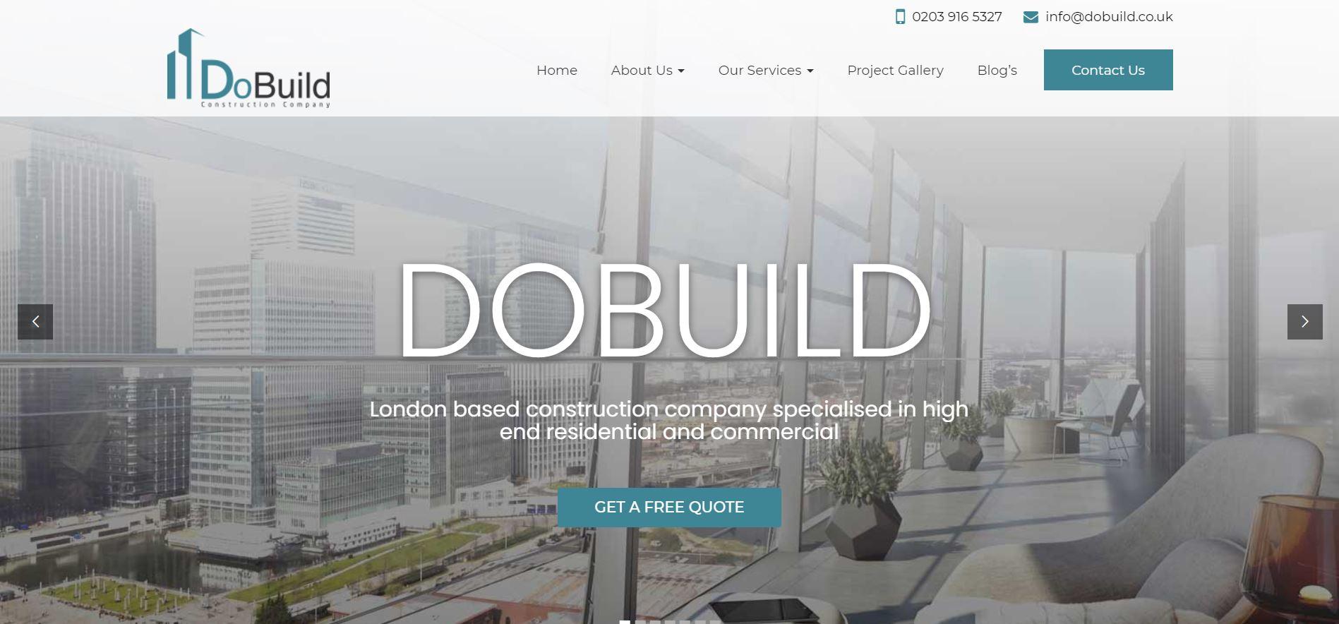 DoBuild Construction Company