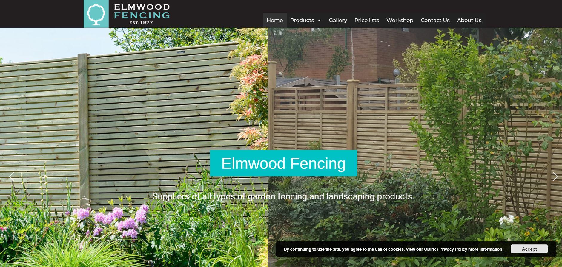 Elm Wood Fencing