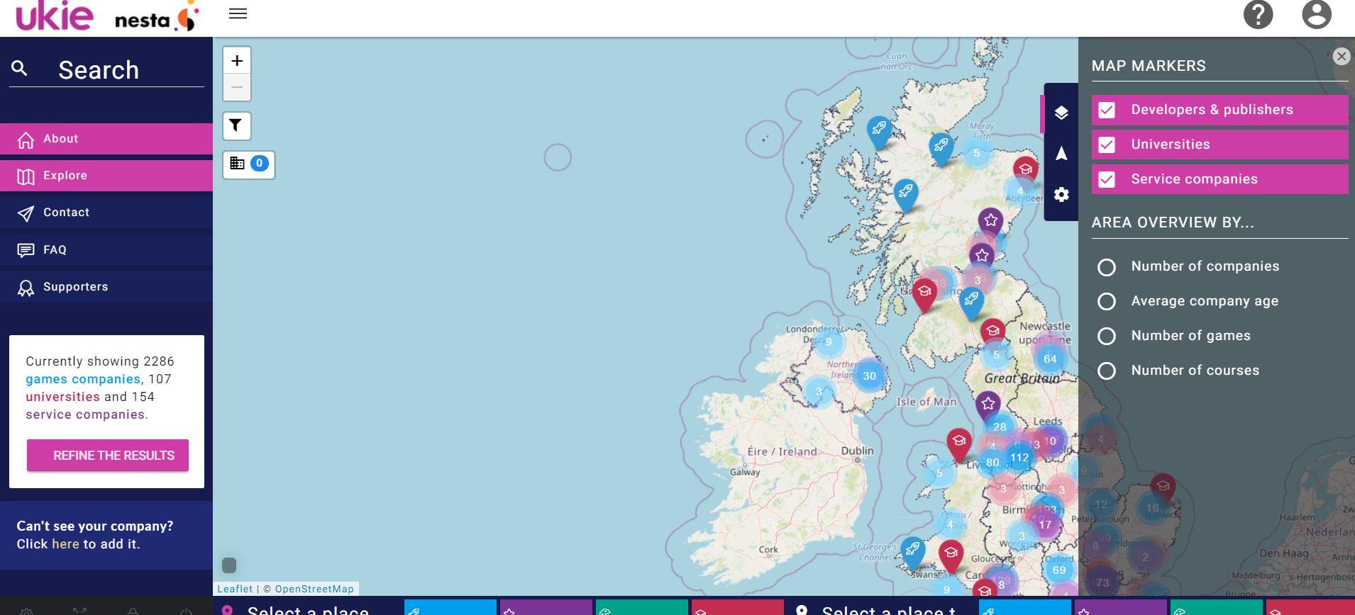Gamesmap UK