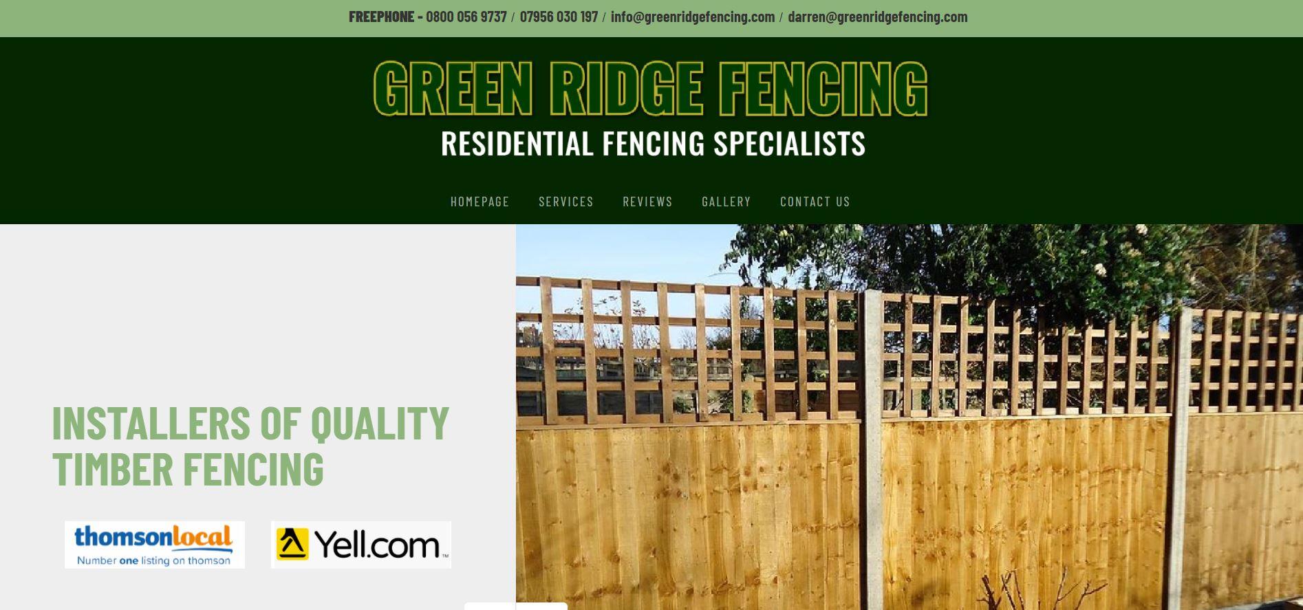 Green Ridge Fencing