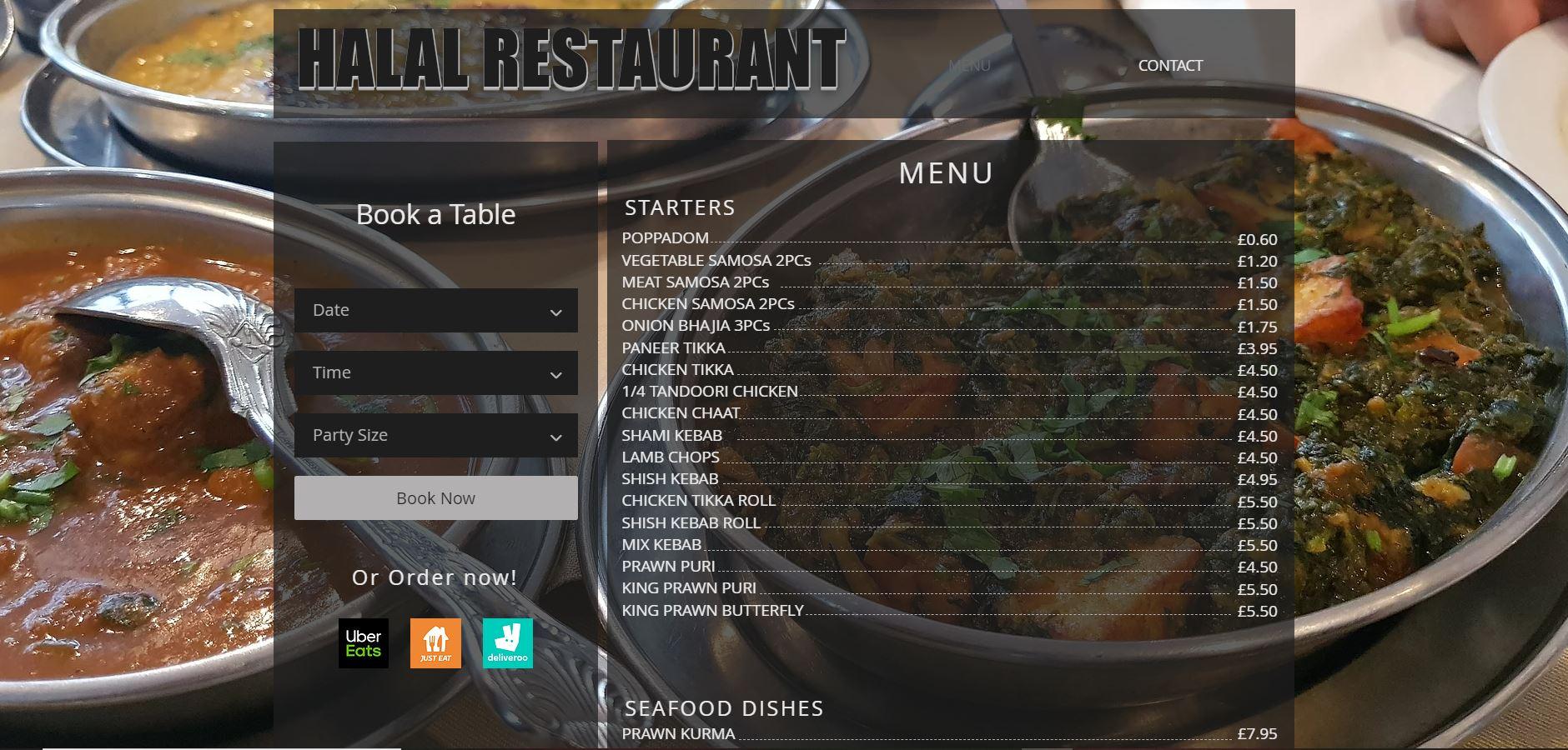 London Halal Restaurant