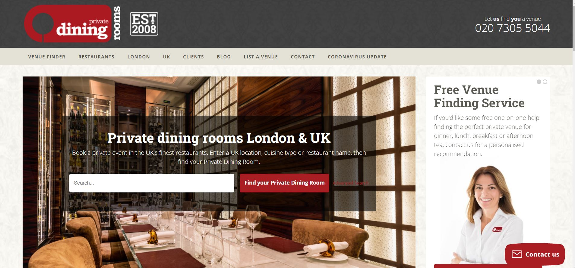 Private Dinning Rooms