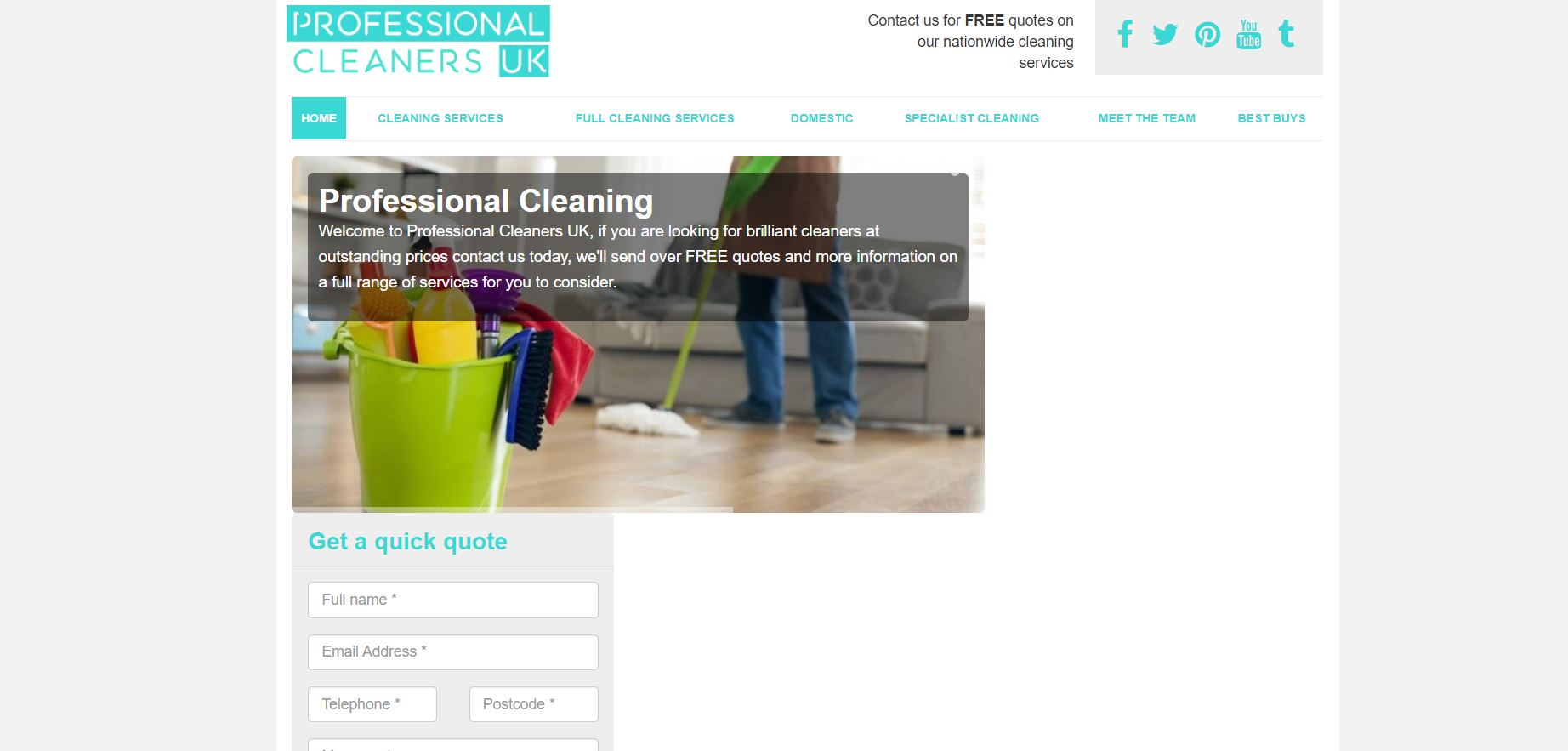 Professional Cleaners UK