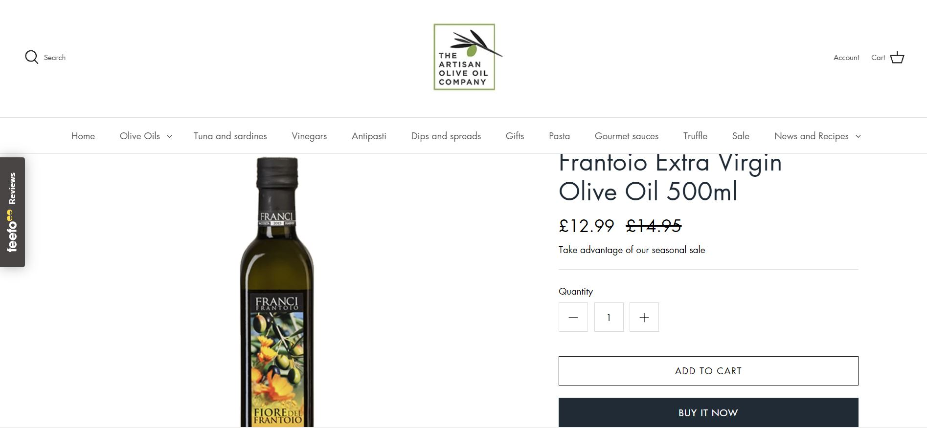 The Artisan olive oil company