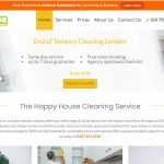 The Happy house cleaning