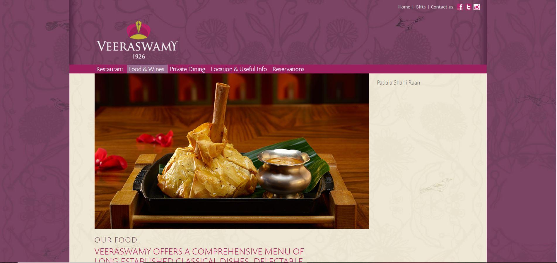 Veerswamy Restaurant