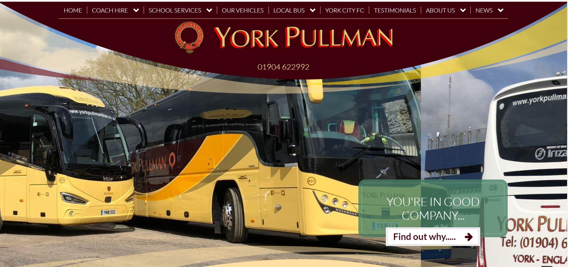York Pullman bus
