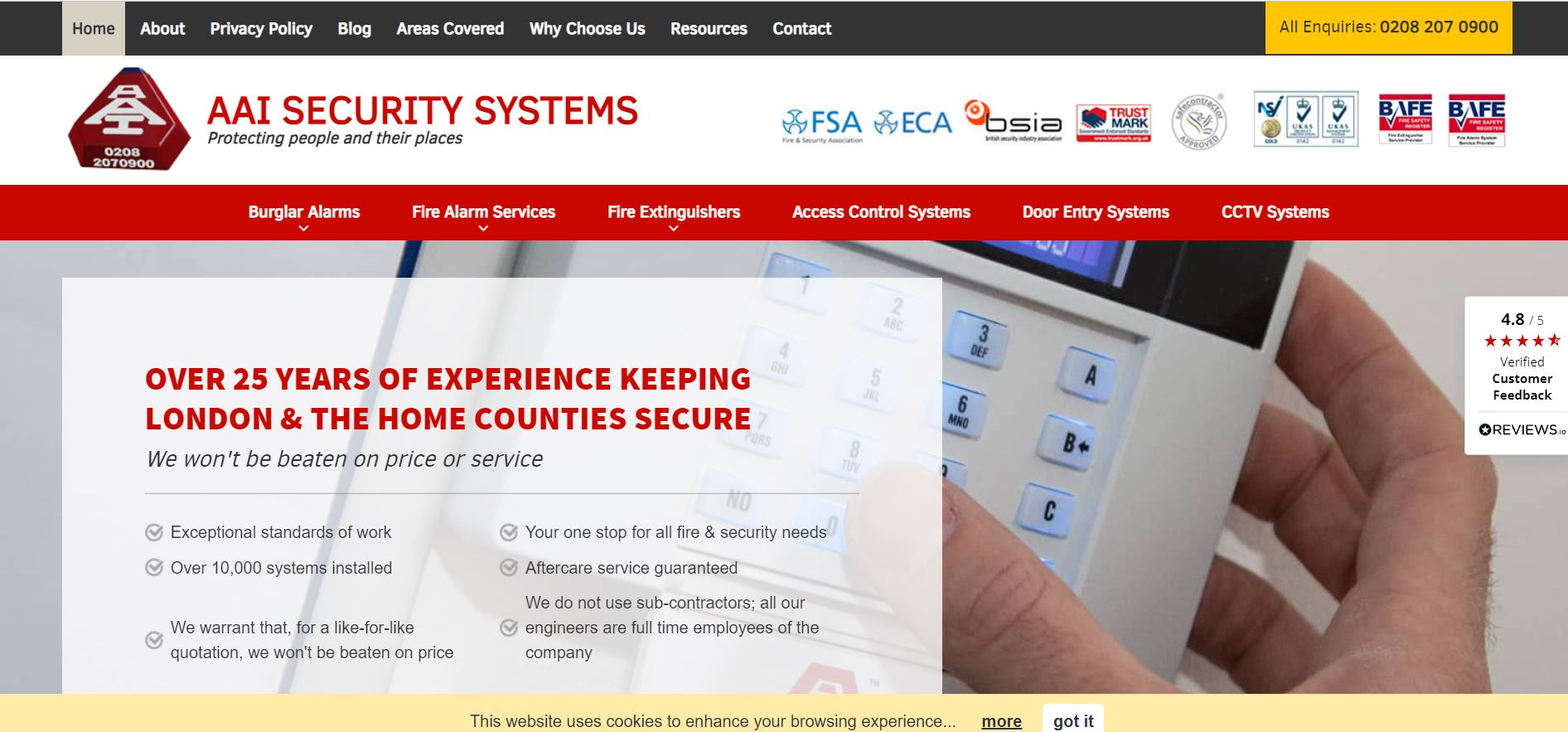 aai security systems